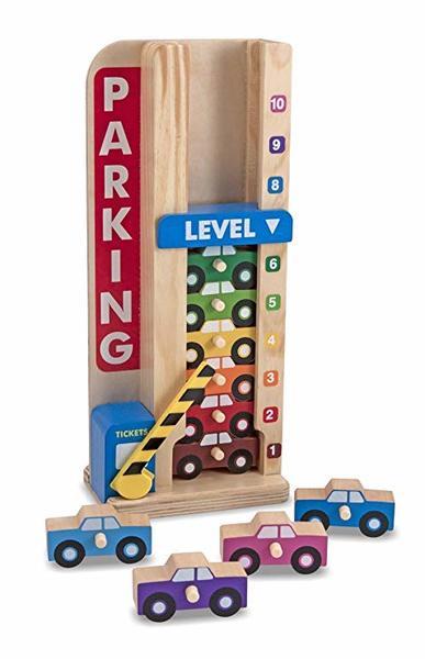 C1095: STACK & COUNT PARKING GARAGE