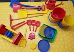 E1502: SAND/WATER PLAY SET