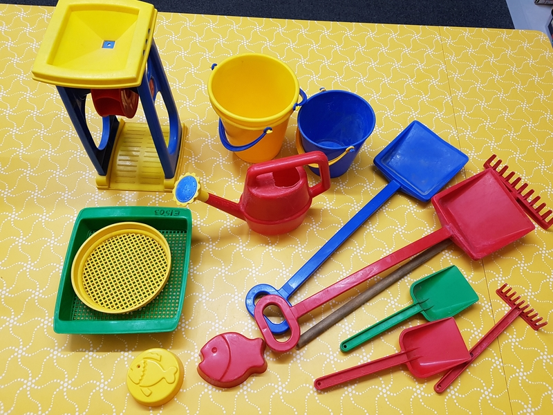 E1503: SAND/WATER PLAY SET