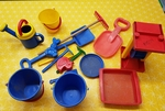 E1504: SAND/WATER PLAY SET