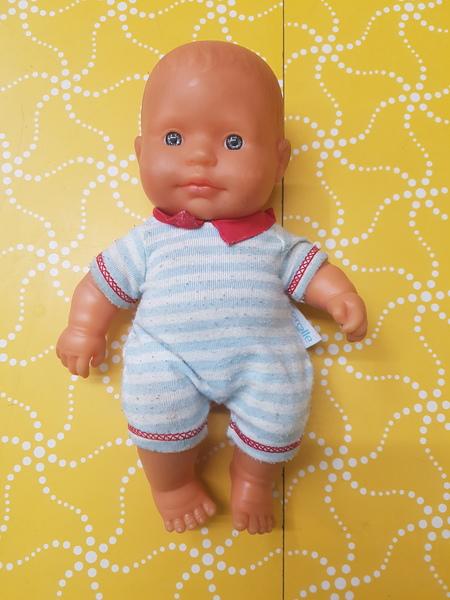 E1464: SMALL BABY BOY DOLL