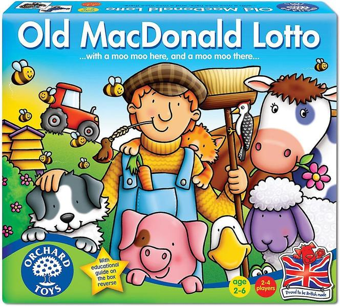 G1086: OLD MCDONALD LOTTO GAME