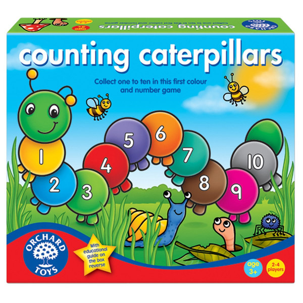 G1087: COUNTING CATERPILLARS GAME