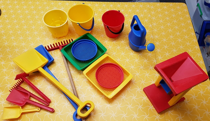 E1505: SAND/WATER PLAY SET