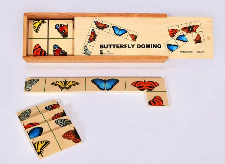 G1101: BUTTERFLY DOMINO SET