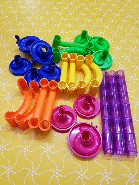 C1206: PLASTIC MARBLE RUN