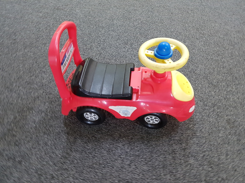 A5055: RED RIDE ON FIRE/RESCUE CAR