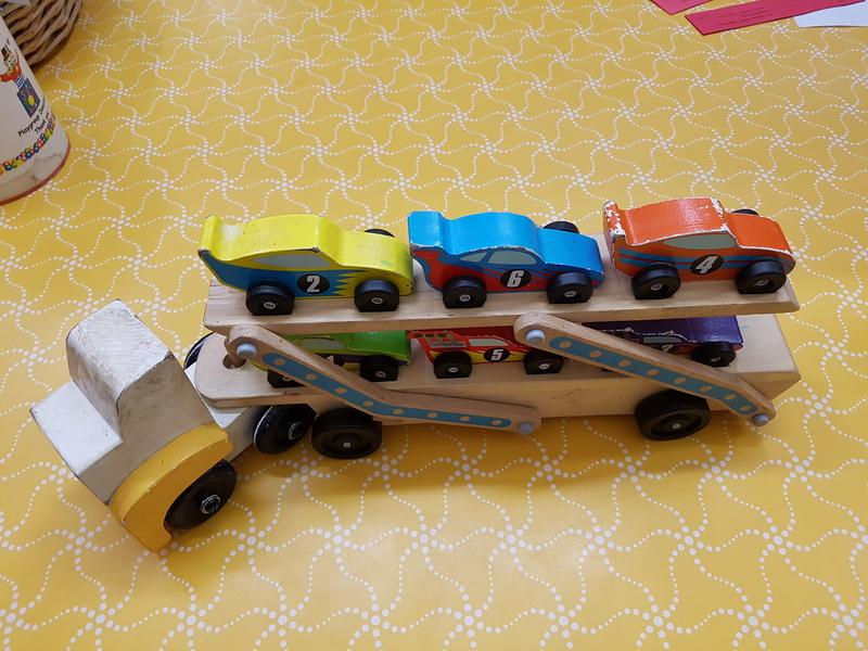 E1561: JUMBO RACE CAR CARRIER