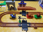 E1559: PAW PATROL ADVENTURE BAY RAILWAY SET