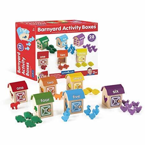 E0091: BARNYARD ANIMAL BOXES
