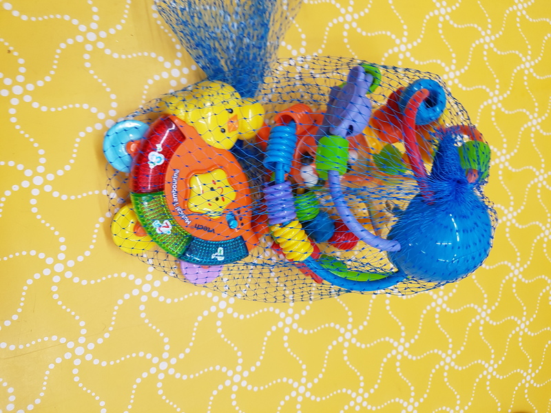 B0051: PLAYGRO RATTLE AND TAMBORINE