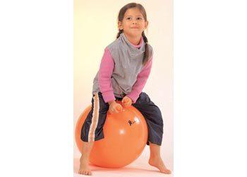 A0073: Orange bouncing ball