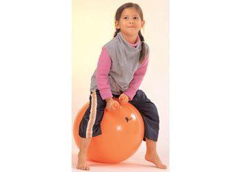 A0076: Orange bouncing ball