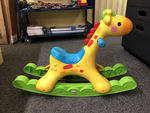 A0077: Giraffe Rocker