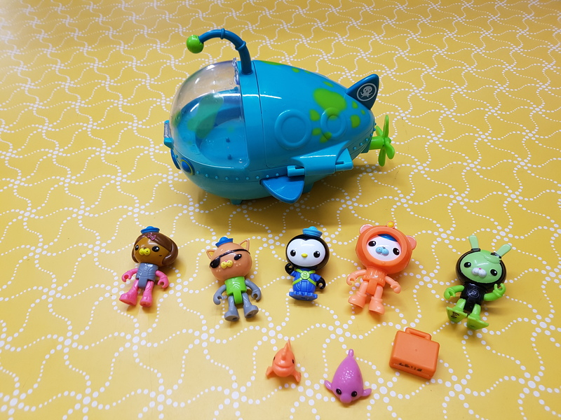E1137: Octonauts Submarine