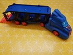 E1832: Blue Car Transporter