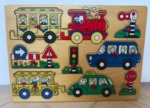 P67: Wooden Knob Puzzle, Transport