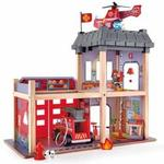 RP44: Fire Station Wooden Playset - No Renewal Toy