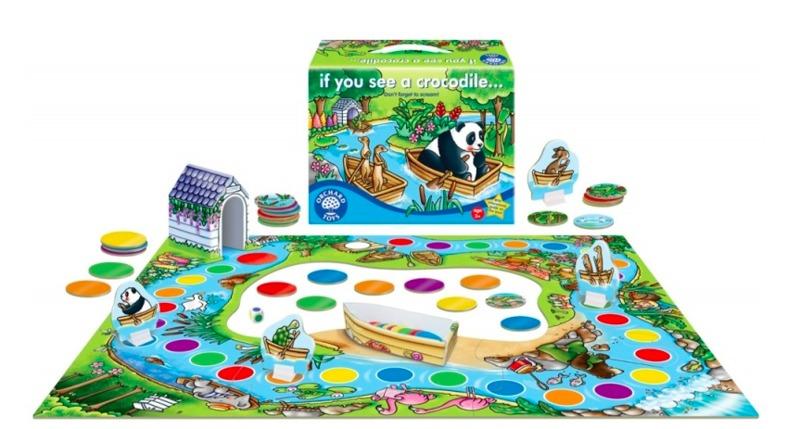 G43: If you see a crocodile... Board Game
