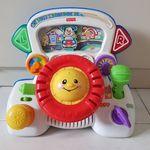 EY01: Laugh & Learn Rumble Steering Wheel