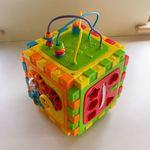 B3: Activity box with shape sorter and blocks