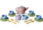E88: Green toys tea set - 17 PIECES