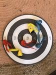 G150: Velcro dart board IKEA 6 darts, one two sided board