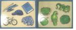 J34: BASIC COLOURS JIGSAW - BLUE & GREEN