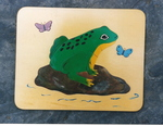 J693: FROG PUZZLE