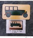 J695: VINTAGE CAR PUZZLE