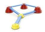 P877: Build and balance course -  9 pcs