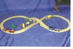 T1: WOODEN TRAIN SET