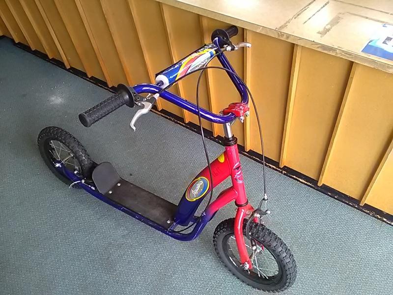 1191: Big Wheel Scooter
