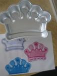 1230: Crown Cake tin