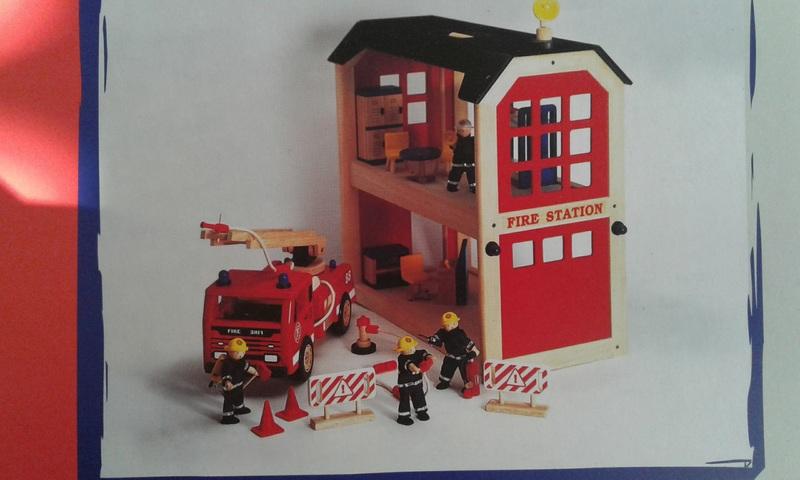 1331: fire station set