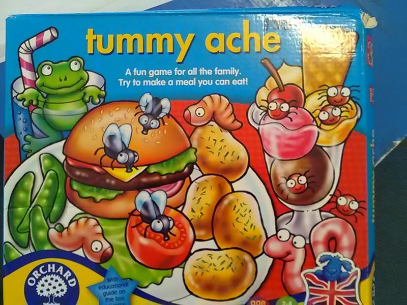 1339: Tummy ache game