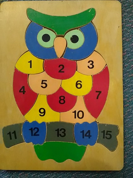 J5: Number Owl Puzzle
