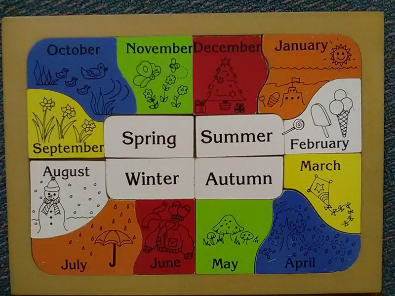 J108: Months and Seasons