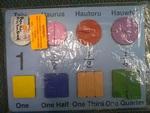 J144: Papu Hau Fraction Board