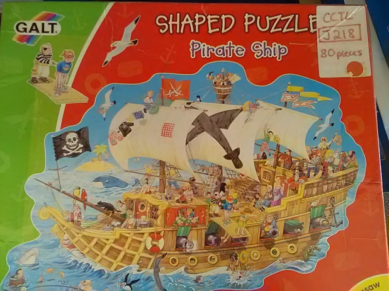 J218: Shaped Pirate Puzzle