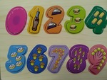 J242: Wooden Number Puzzle
