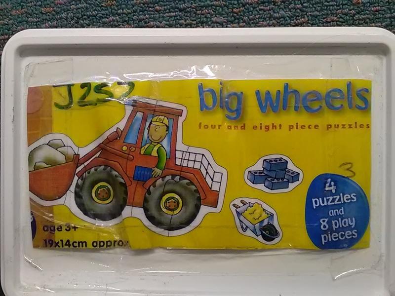 J252: Big Wheels Puzzle