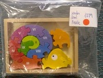 J279: Wooden Snail Puzzle