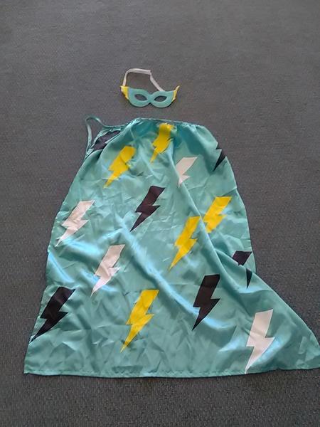 7: Superhero costume