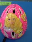 12: Pink Barbie helmet