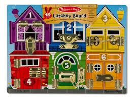 1: latches board 2