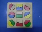 55: Wooden block shape puzzle