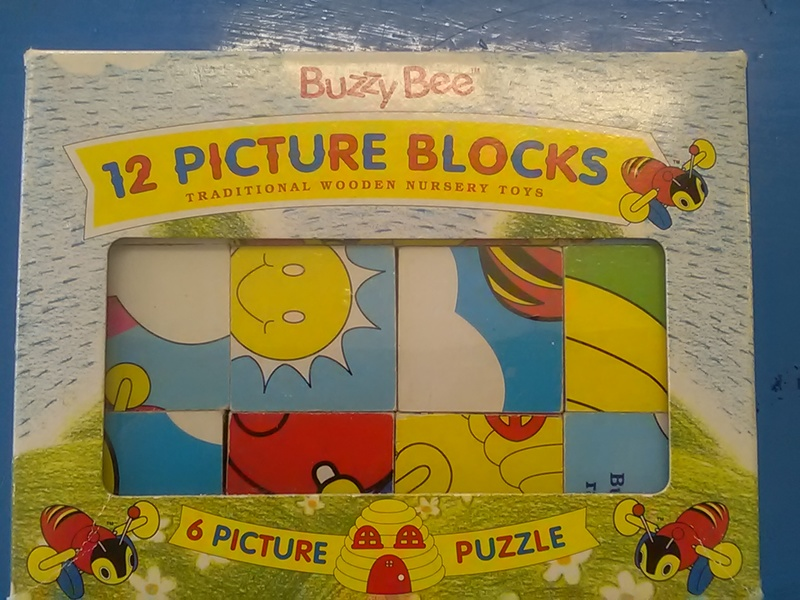68: Buzzy bee picture block puzzle