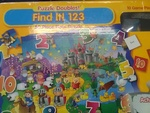 69: Find it 123 50 piece floor puzzle