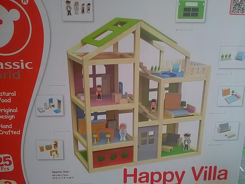 80: Happy Villa dolls house
